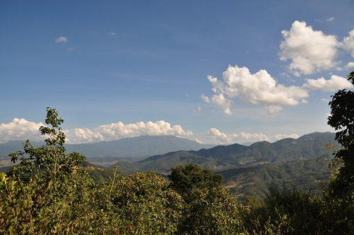 Incredible views during Mae Sariang Loop