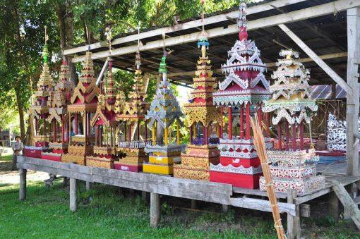 Shan donations Mae Sariang