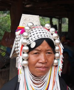 Picture of Akha woman Chiang Mai Tribal Photography tour