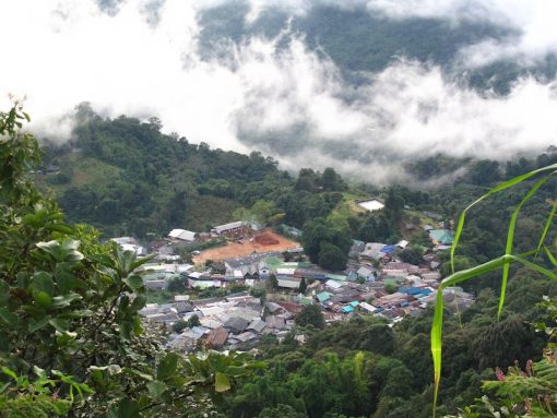 View of Doi Pui Hmong Village Doi Suthep Day Trekking