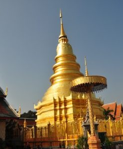 Wat Hariphunchai on Lamphun Tour