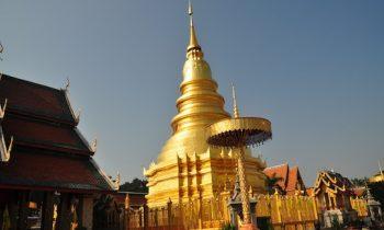 Wat Hariphunchai on Lamphun Tour