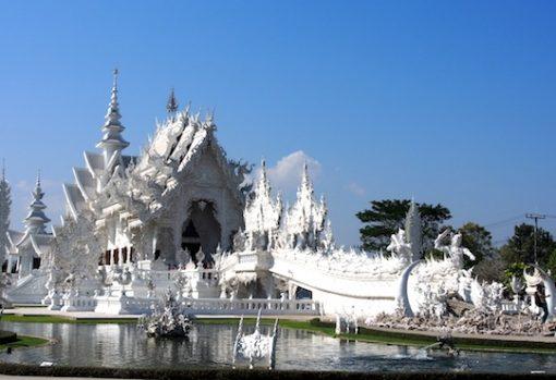 Chiang Rai Chiang Mai Loy Krathong tour picture of Wat Rong Khun