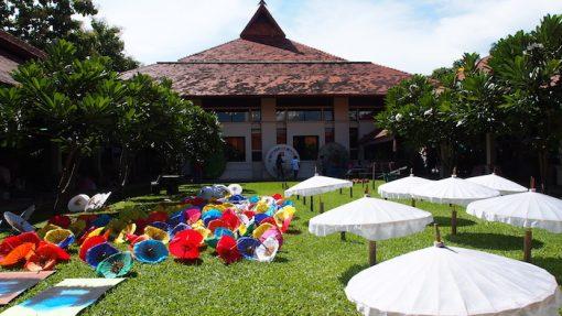 Parasols and umbrellas Chiang Mai Artisan and Handicraft tours