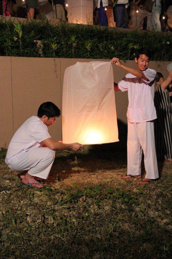 Kom Loy Chiang Mai Loy Krathong Festival