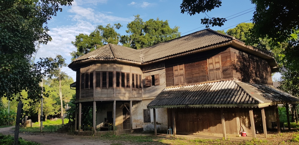 Former office and house of Louis T.Leonowens House in Lampang