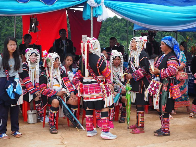Akha Swing Festival group of Akha