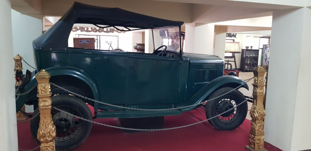 The car in which Kruba Srivichai was driven up to Wat Doi Suthep on April 30, 1935