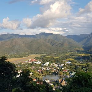 Mae Hong Son Loop view of the town