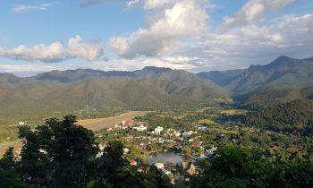 Mae Hong Son Loop view of the town