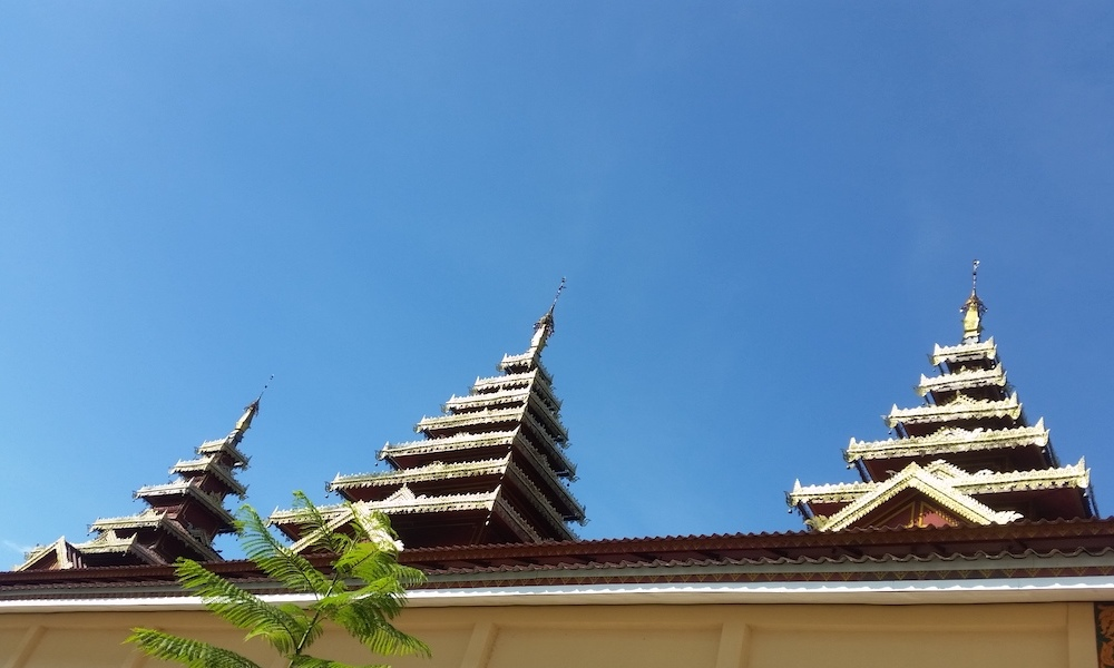 Wawee temple roof