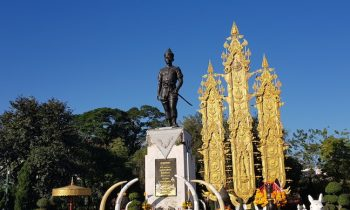 Statue of King Mengrai in Chiang Rai