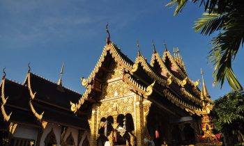 Viharn of Wat Saenmuang in Chiang Mai