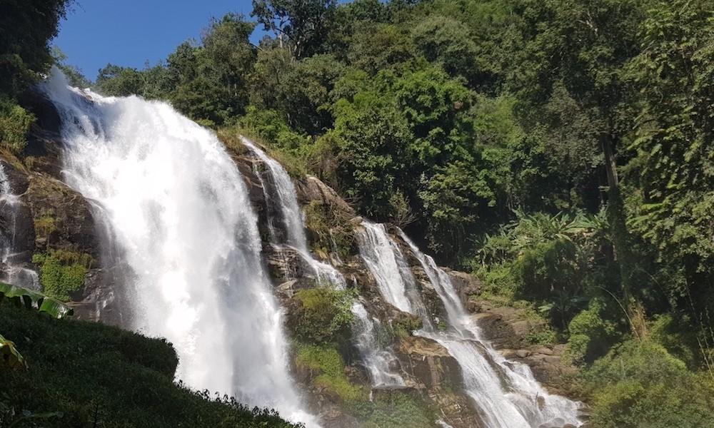 Doi Inthanon Vachirathan Waterfall