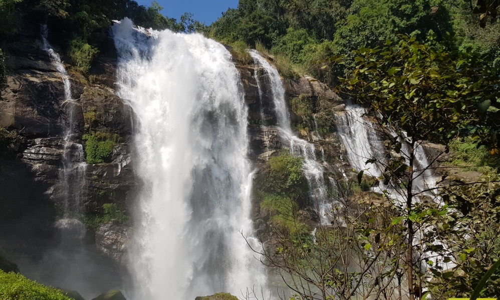 National Park Vachirathan Waterfall