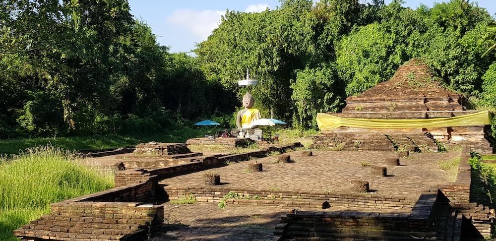 old Buddha statue Wiang Kum Kam