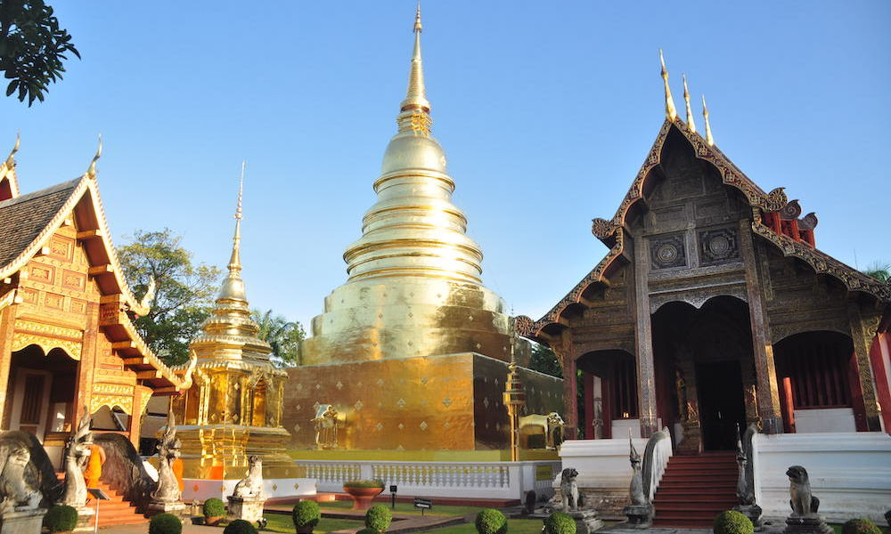 Chiang Mai Wat Phra Singh chedi