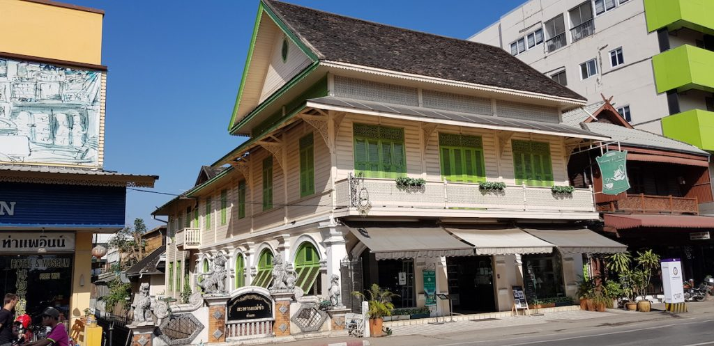 Raming Tea House Heritage houses of Thapae Road
