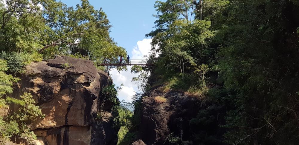 Bridge over gorge