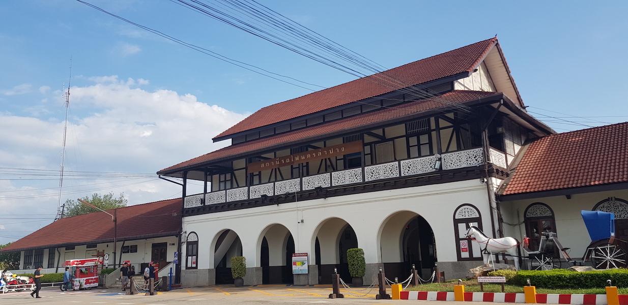 Old beautiful railway station