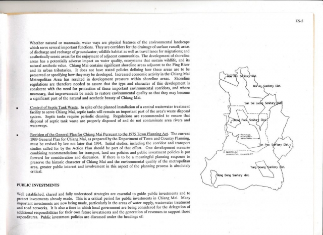 Page 5 of the Chiang Mai Policy-Based Action Plan for historic and environmental preservation