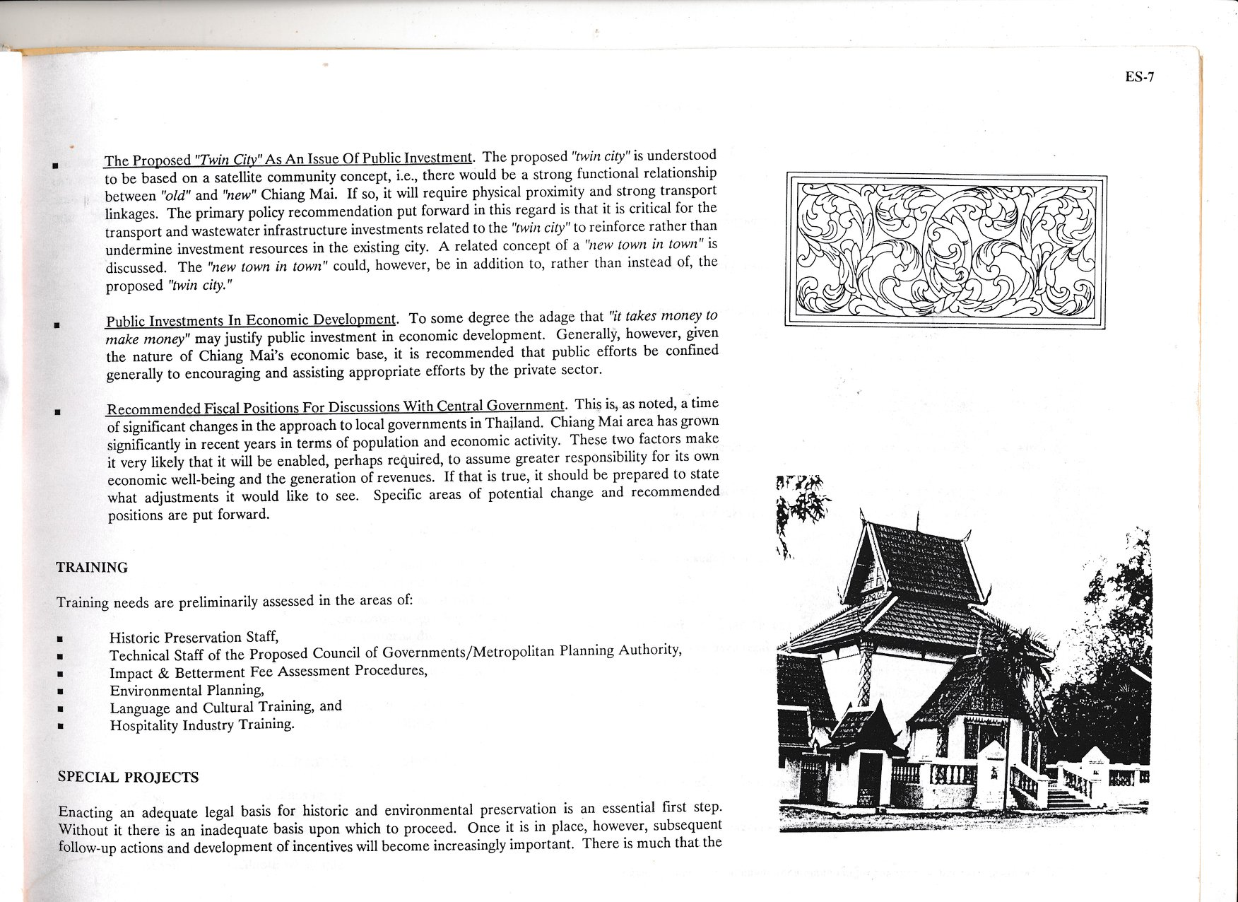 Page 7 of the Chiang Mai Policy-Based Action Plan for historic and environmental preservation