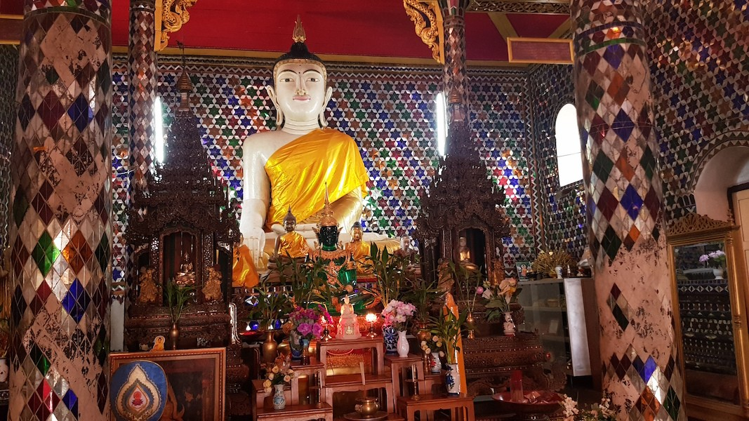 Buddha statue in a temple
